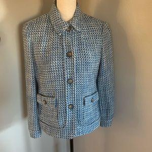 Talbots tweed wool jacket